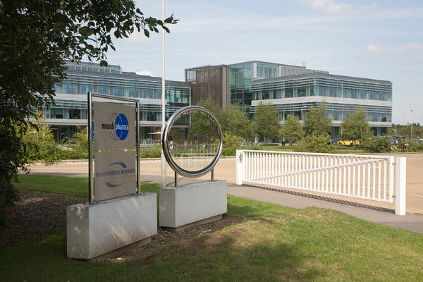 Mundipharma, the global pharmaceutical company owned by the Sackler family, based in Cambridge, England.