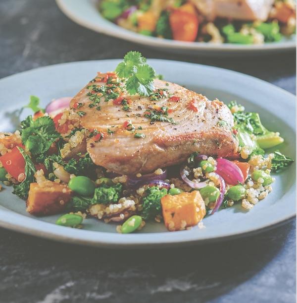 Nuoc Cham Tuna healthy recipes wagamama
