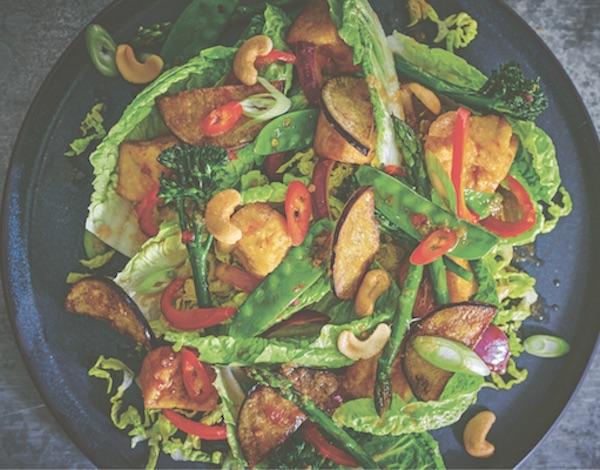 Warm Chilli tofu salad healthy recipes wagamama