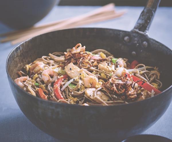 Yaki soba healthy recipes Wagamama