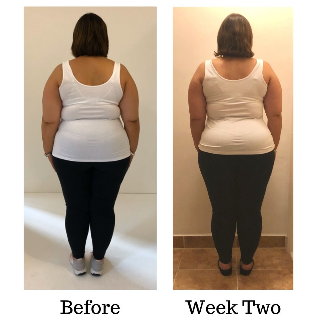 Before and after Dinas transformation WEEK TWO (1)