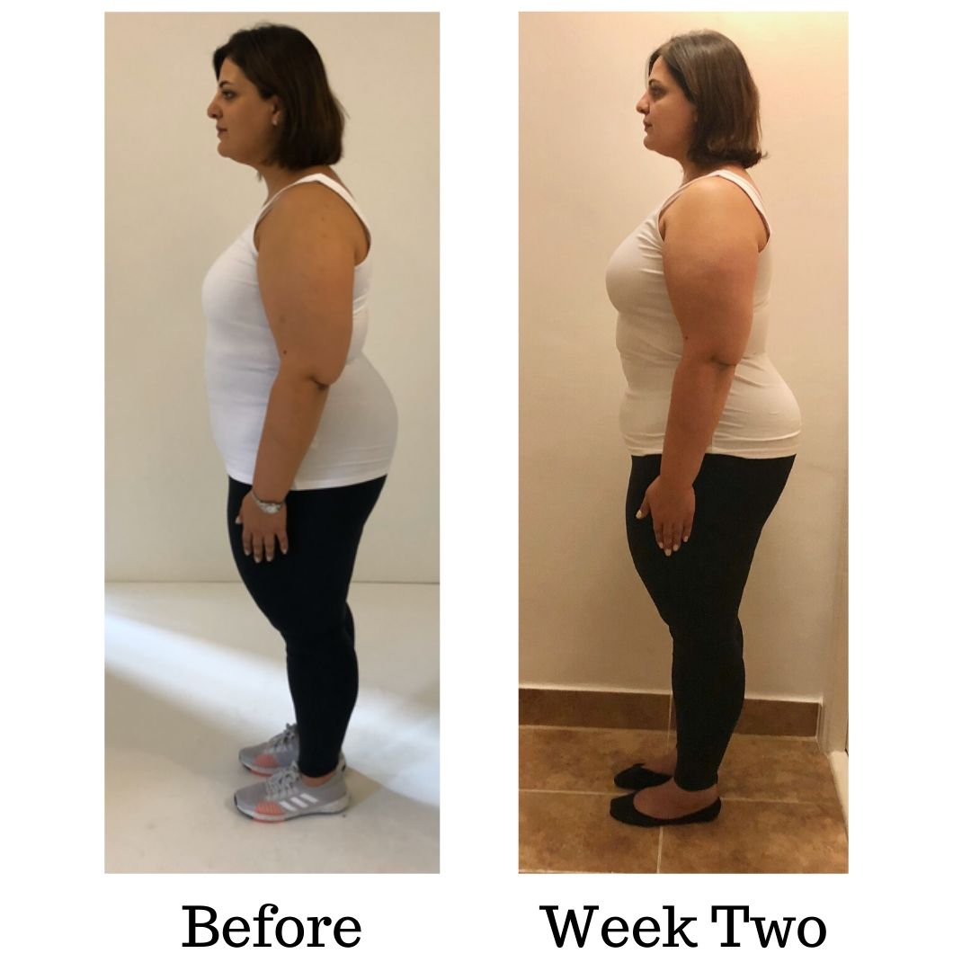 Before and after Dinas transformation WEEK TWO (2)