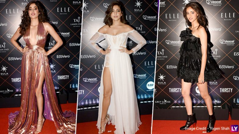 Elle Beauty Awards 2019 Best and Worst Dressed: Janhvi Kapoor, Anushka Sharma, Ananya Panday and Others Who Deserve a 'Yay' or 'Nay' for their Outings (View Pics)