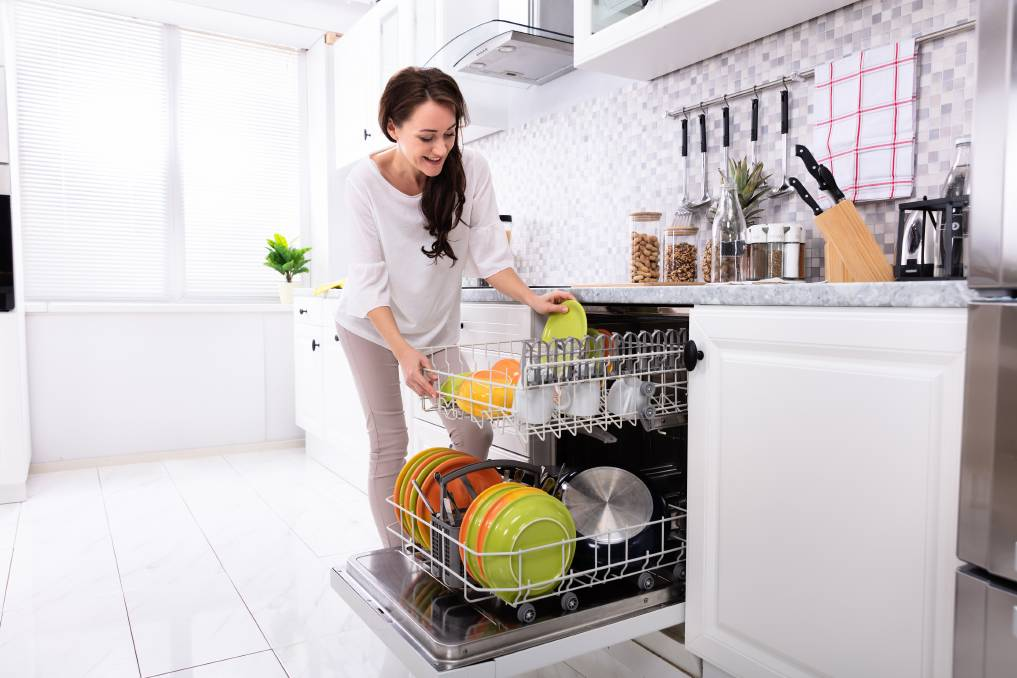 Doing the dishes: A dishwasher can not only save arguments about who has to wash the dishes, but also save you money on your water bill.