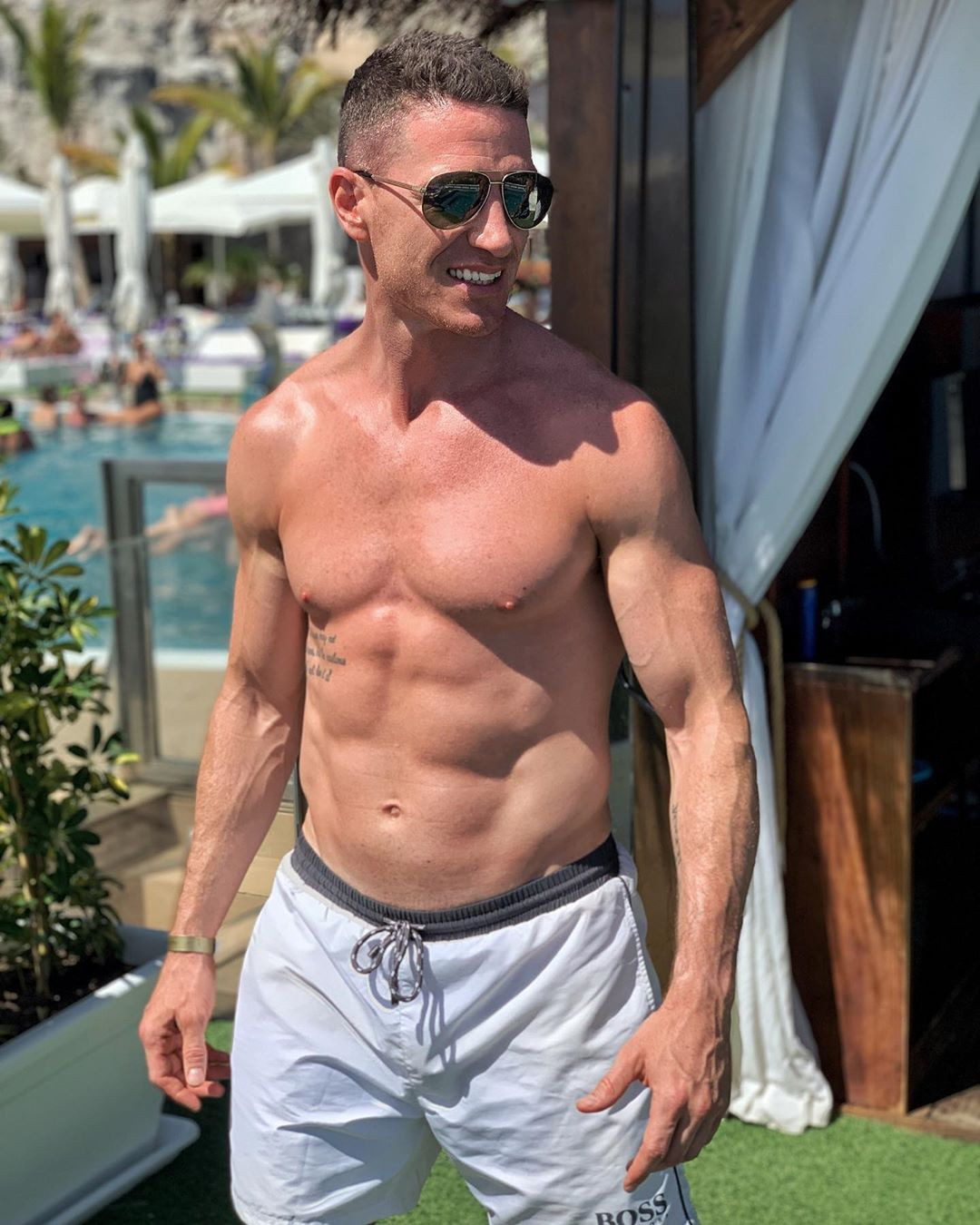 Rory has helped celebrities including Made In Chelsea's Jamie Laing to get into shape