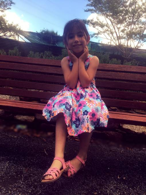 BRIGHT AND HAPPY: Brooklyn Greaves was diagnosed with KBG Syndrome less than a month ago, but the condition has never stopped her in life.