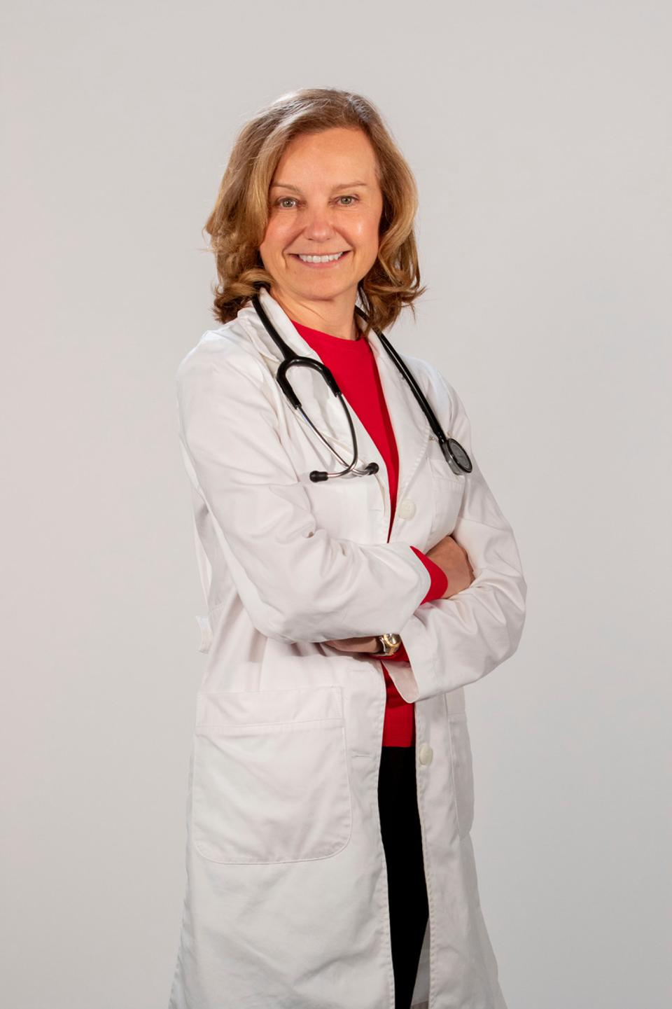 Cardiologist  Elizabeth Klodas is founder and chief medical officer of Step One Foods
