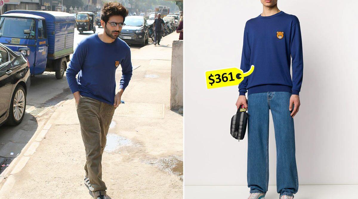 Kartik Aaryan in Moschino jumper (2)