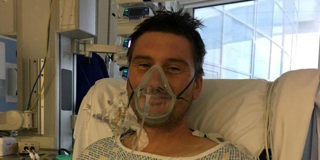 Adam Martin recovering in critical care.