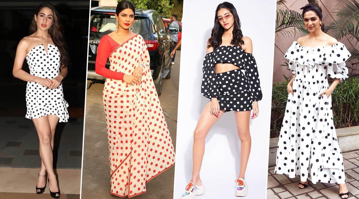 Pretty in Polka Dots! Sara Ali Kha, Deepika Padukone, Priyanka Chopra Show You Why the Print is Always Trendy and Never a Fad