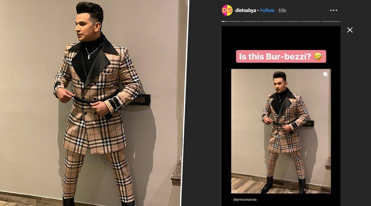 Diet Sabya Calls Out Bigg Boss 9 Winner, Prince Narula for His 'Bur-Bezzi' Fashion Stint (View Post)