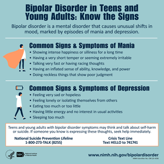 Bipolar Disorder in Teens and Young Adults: Know the Signs