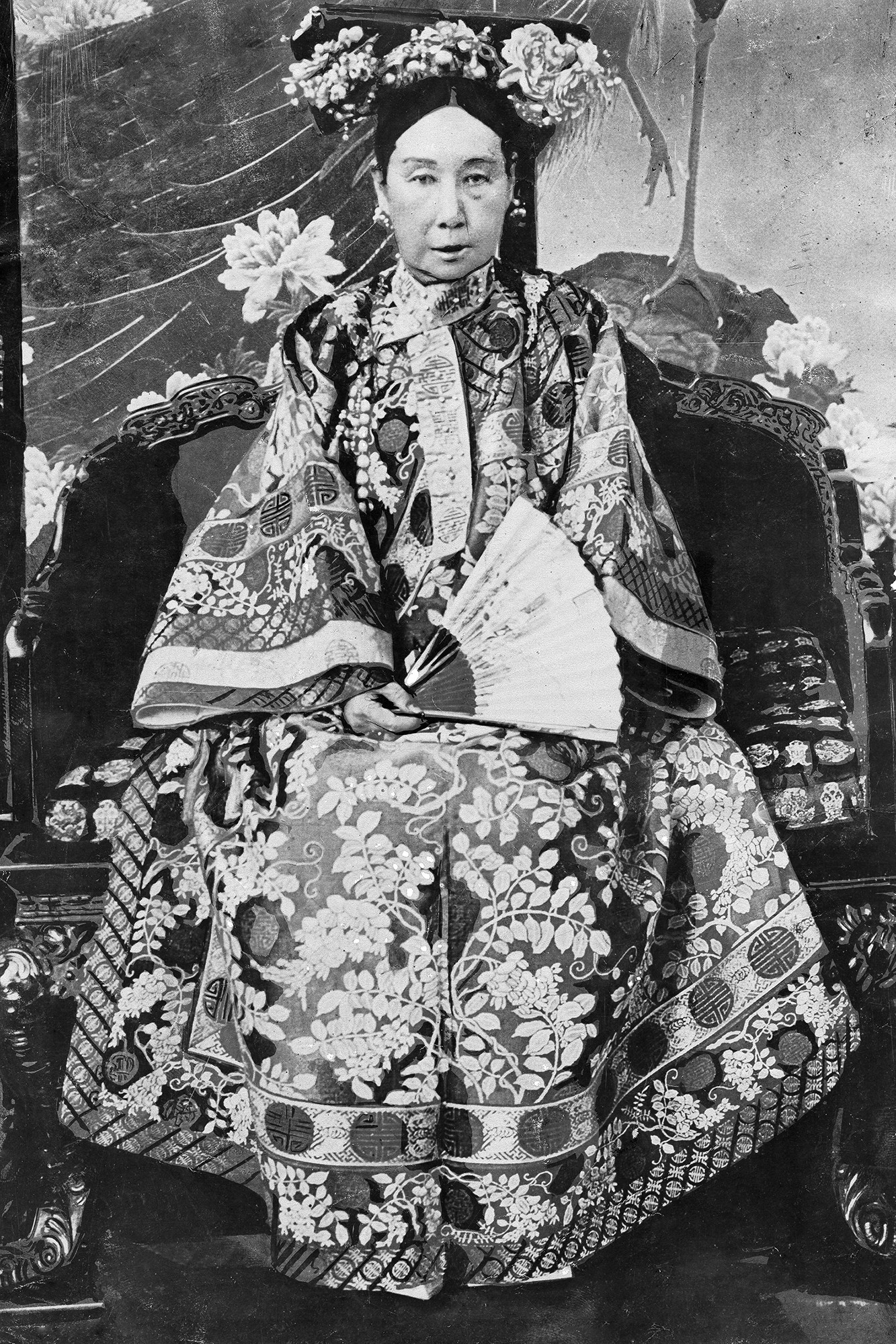 Chinese Empress Dowager Cixi, *1835-1908+, portrait c1900