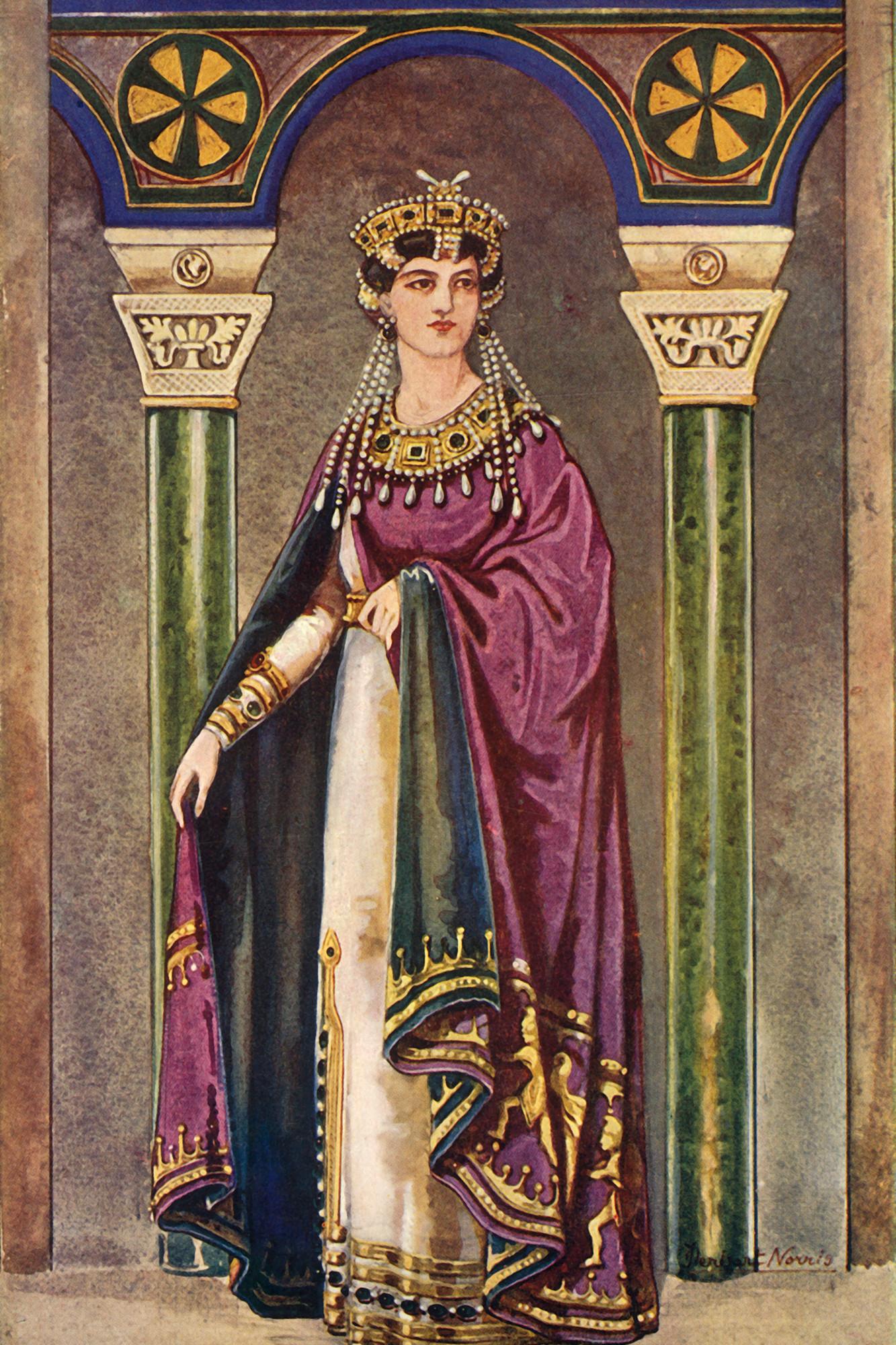 The Empress Theodora - Sixth Century