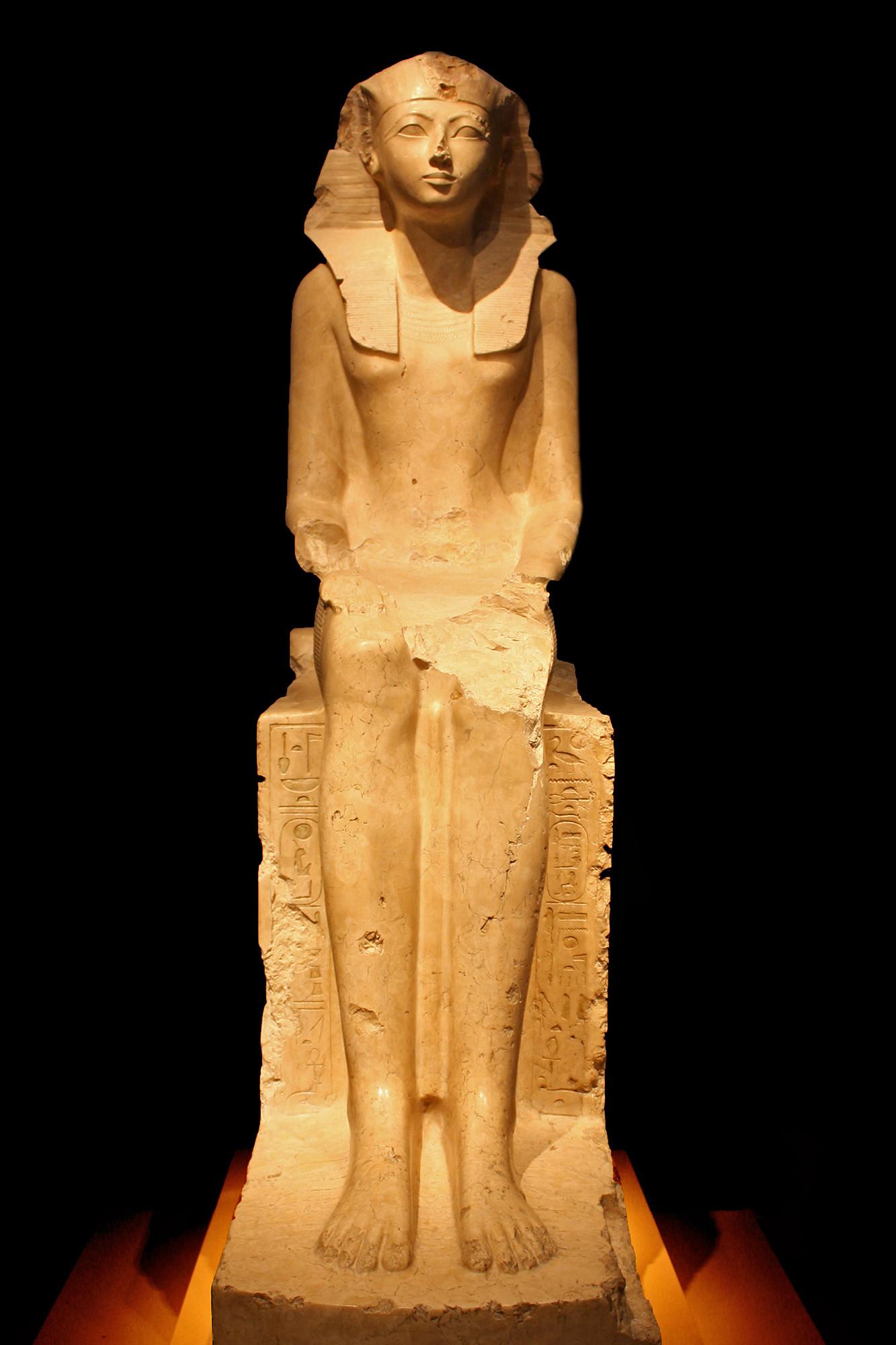 Seated Statue of Queen Hatshepsut