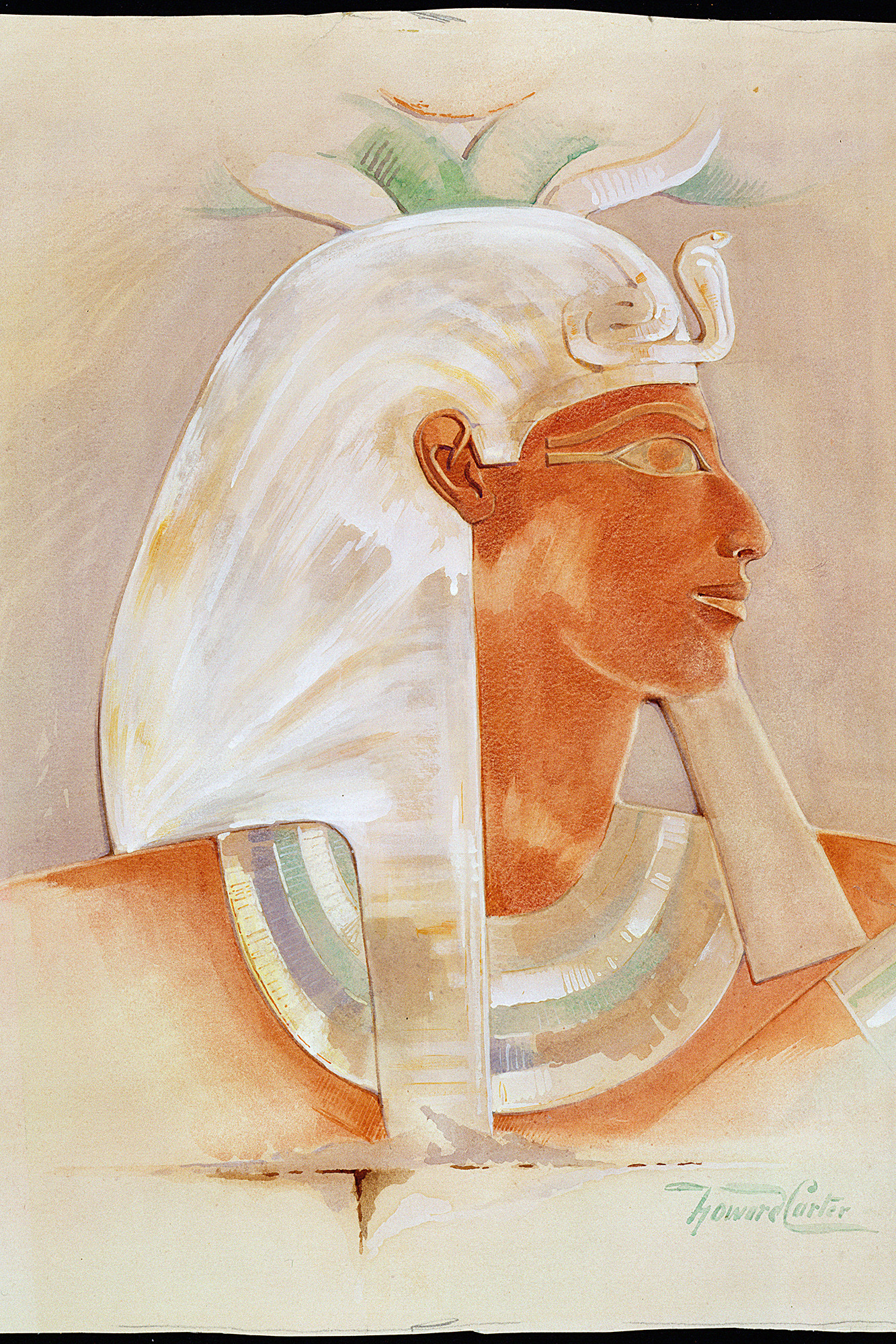 Head Of The Ancient Egyptian Queen Makare Hatshepsut (C Early 20th Century)
